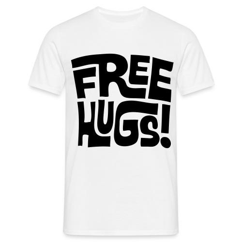 T-Shirt Free Hugs - T-shirt Homme