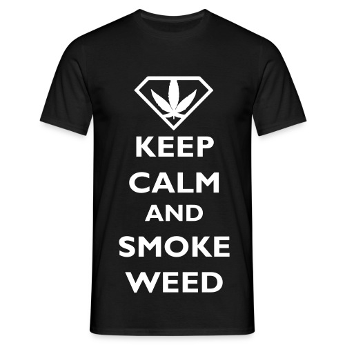 T-Shirt Calm Weed - T-shirt Homme