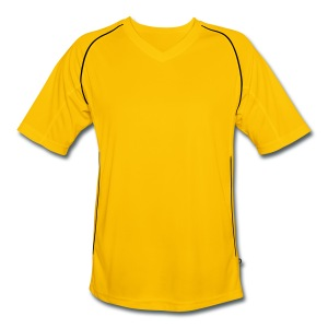Time For Heroes Yellow/Green - Men's Football Jersey
