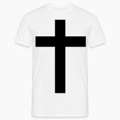 Cross black bar cross 1c T-Shirts