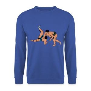 mannensweater met sumoworstelaars - Mannen sweater