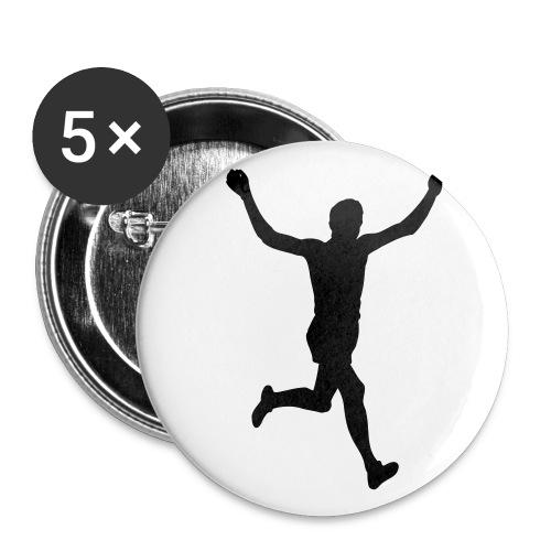 5 pack mellanstor knapp32mm löpare - Mellanstora knappar 32 mm