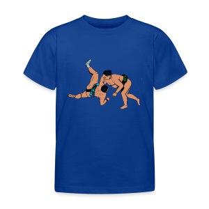 kinderen T-shirt met sumoworstelaars - Kinderen T-shirt