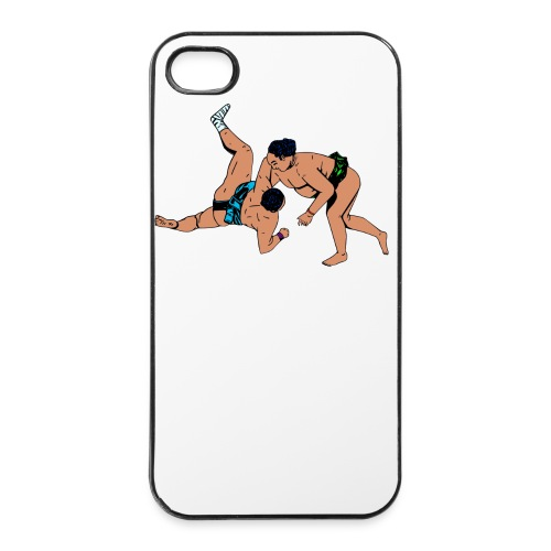 iPhone 4/4s case met sumoworstelaars - iPhone 4/4s hard case