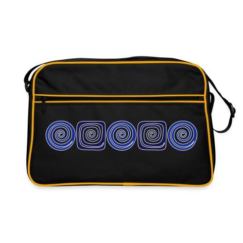 Spirale_mal_5 - Retro Tasche