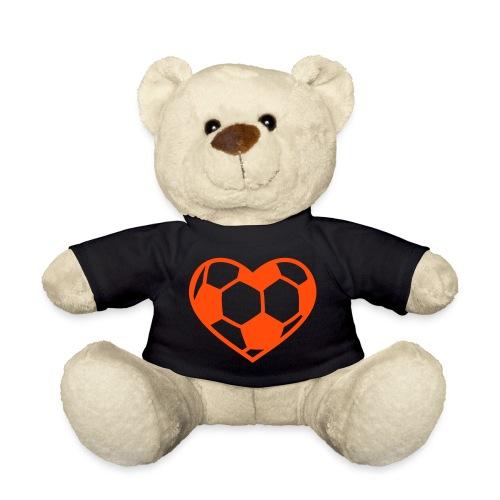 Liefde-voor-voetbal beer - Teddy