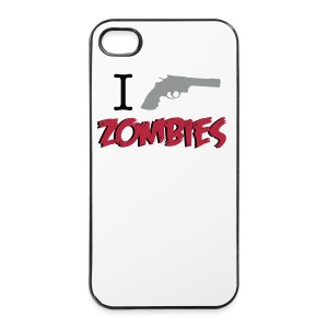 Funda iPhone 4/4S - I Shoot zombies - Carcasa iPhone 4/4s