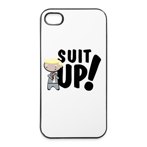 Funda iPhone 4/4S - How I met your mother - Suit up - Carcasa iPhone 4/4s