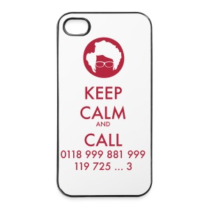 Funda iPhone 4/4S - IT Crowd - Keep calm - Carcasa iPhone 4/4s