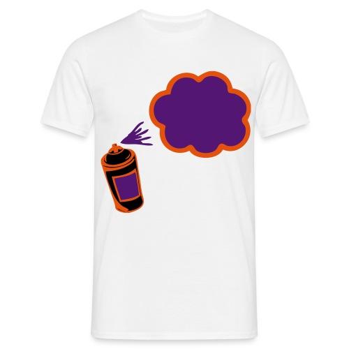 streetspray - Mannen T-shirt