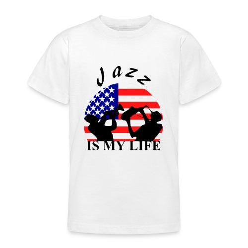 T shirt ado jazz is my life - T-shirt Ado