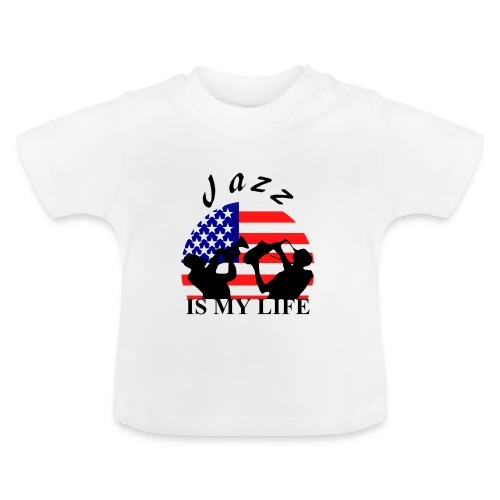 T shirt bébé jazz is my life - T-shirt Bébé