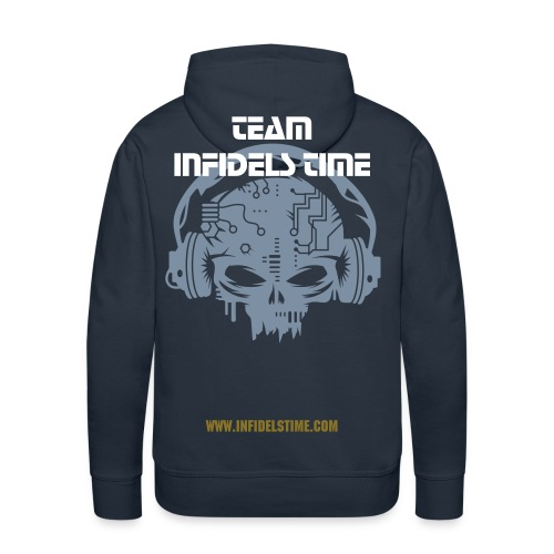 Sweat-Shirt Infidels Time - Sweat-shirt à capuche Premium pour hommes