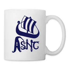 Blue ship logo mug - Mug