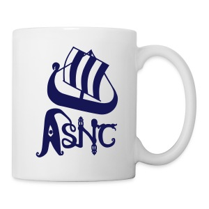 Blue ship logo mug - Mug