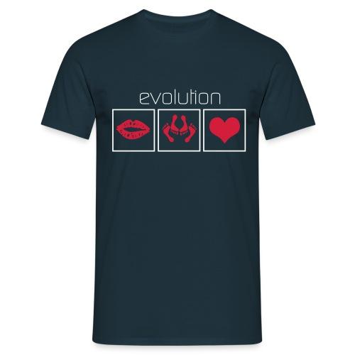 Evolution - Mannen T-shirt