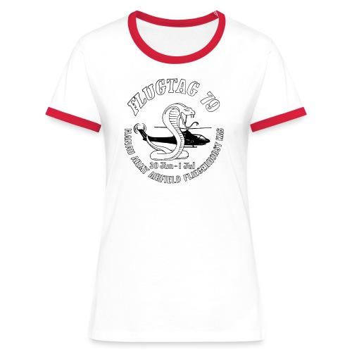 Flugtag 79 (Hanau air show) - Women's Ringer T-Shirt