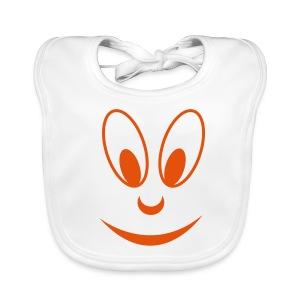 smile face - Baby Bio-Lätzchen