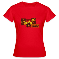 T-Shirts ~ Frauen T-Shirt ~ Cool guys don´t look at explosions