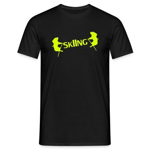 Ski er livet mitt - T-skjorte for menn