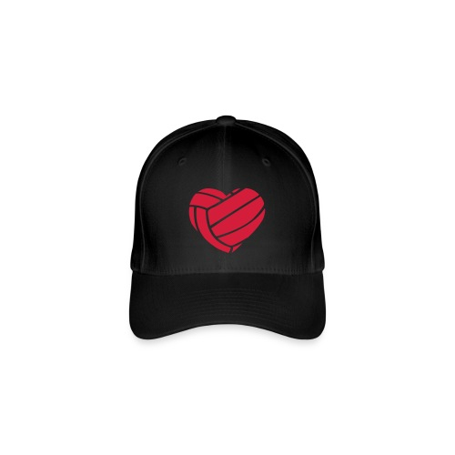 Pet met hartje - Flexfit baseballcap