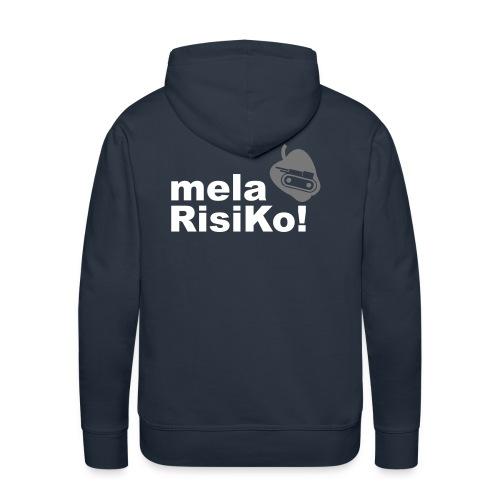 mela risiko (felpa uomo) - Felpa con cappuccio premium da uomo