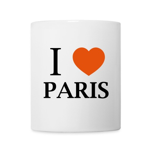Tasse I Love Paris - Mug blanc
