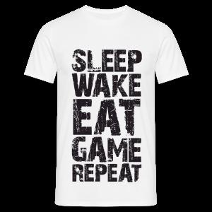 Sleep Wake Eat... - Men's T-Shirt