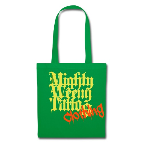 Mightyweeny Clothing GELB NEON ORANGE Bag - Stoffbeutel