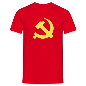 Chinese Hammer & Sickle T-Shirt - Men's T-Shirt