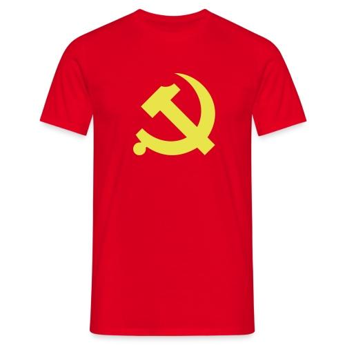 Chinese Hammer & Sickle T-Shirt - Men's T-Shirt