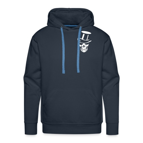SWEATER CAPOUCHON - Skull en kaartspel - Mannen Premium hoodie