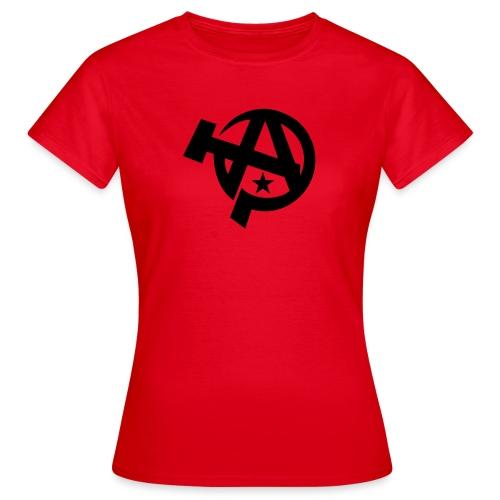Anarcho-Communist Symbol Women's T-Shirt - Women's T-Shirt