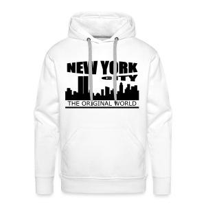 Sweat à capuche homme new york city - Sweat-shirt à capuche Premium pour hommes