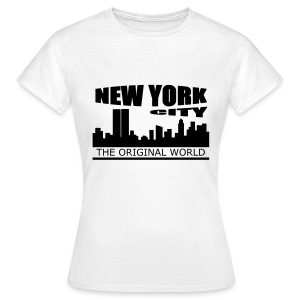 T shirt femme new york city - T-shirt Femme