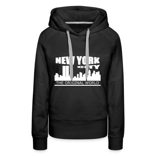 Sweat à capuche femme new york city - Sweat-shirt à capuche Premium pour femmes