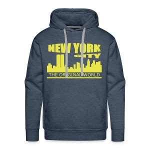 Sweat à capuche homme new york city - Sweat-shirt à capuche Premium pour hommes