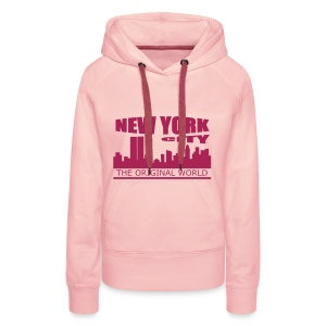 Sweat à capuche femme new york city - Sweat-shirt à capuche Premium pour femmes