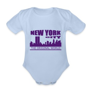 Body bébé new york city - Body bébé bio manches courtes