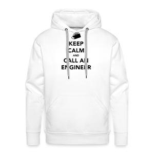 Keep Calm im an Engineer - Men's Premium Hoodie