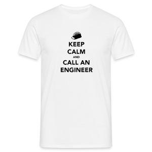 Keep Calm im an Engineer - Men's T-Shirt