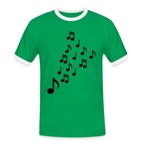 Saxophone Symbol T-Shirt - Men's Ringer Shirt