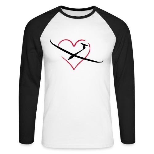 Love - Langarm - Männer Baseballshirt langarm