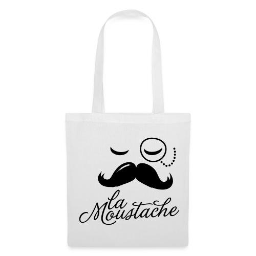 Stoffbeutel - Stofftasche,Mustache