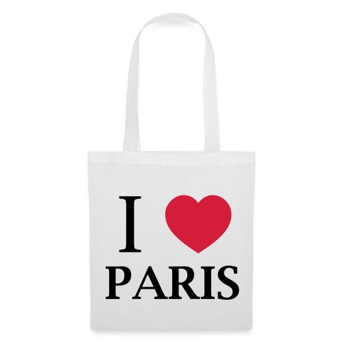 Sac i love paris - Tote Bag