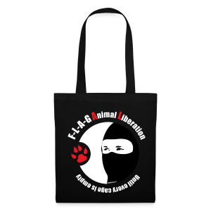 F-L-A-G Animal Liberation - Stoffbeutel
