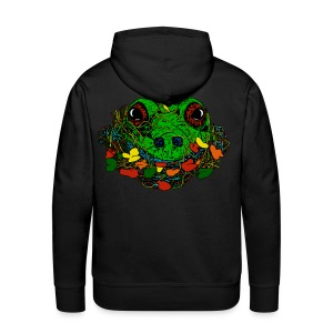 mannen sweater met kikker - Mannen Premium hoodie