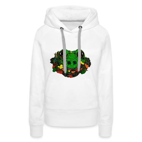 vrouwen sweater met kikker - Vrouwen Premium hoodie