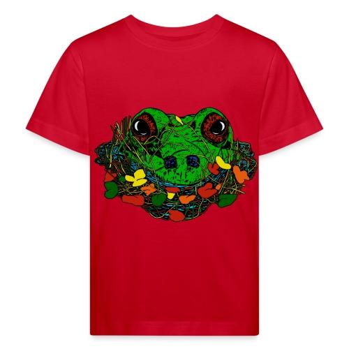 kinderen T-shirt met kikker - Kinderen Bio-T-shirt