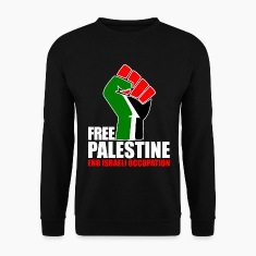 Free Palestine end Israeli Occupation Hoodies & Sweatshirts